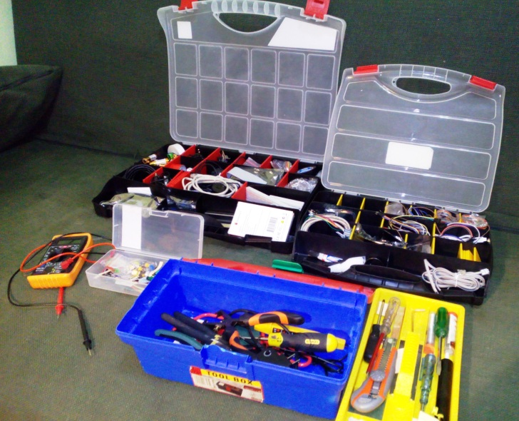 Equipment boxes